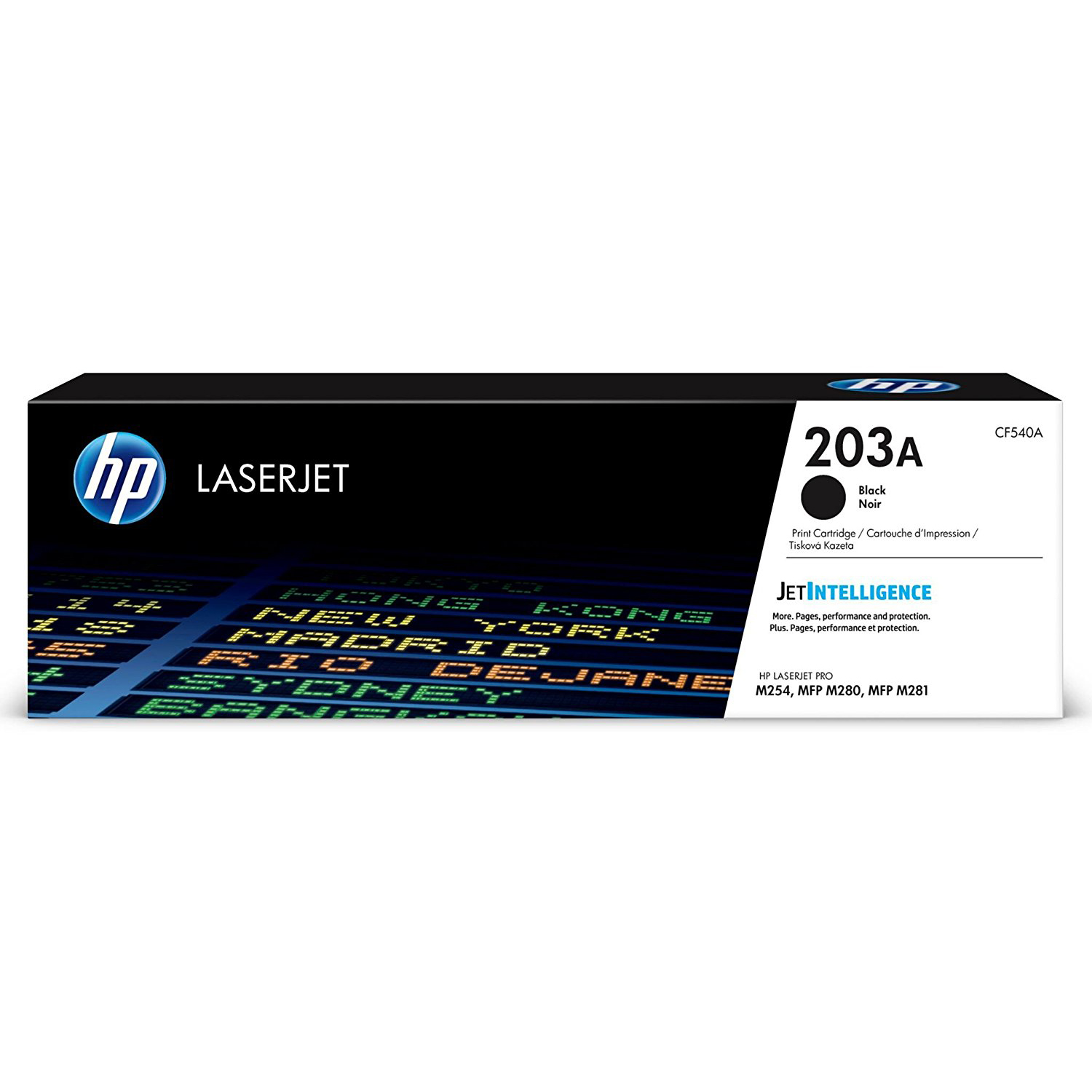 HP 203A (CF540A) Laserjet Toner Cartridge - Black