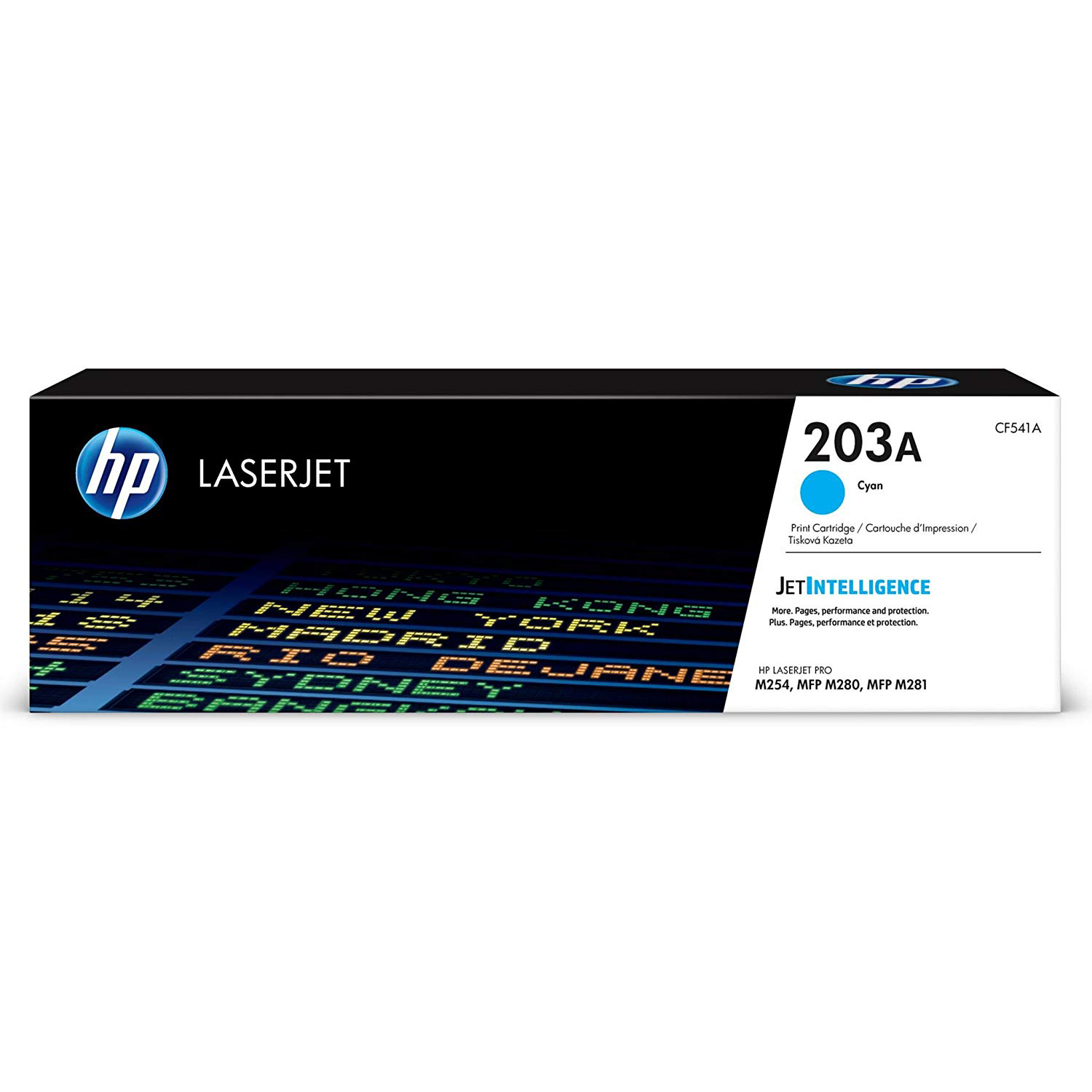 HP 203A (CF541A) Laserjet Toner Cartridge - Cyan