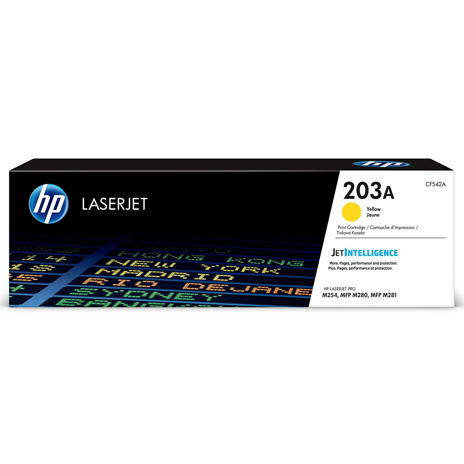 HP 203A (CF542A) Laserjet Toner Cartridge - Yellow