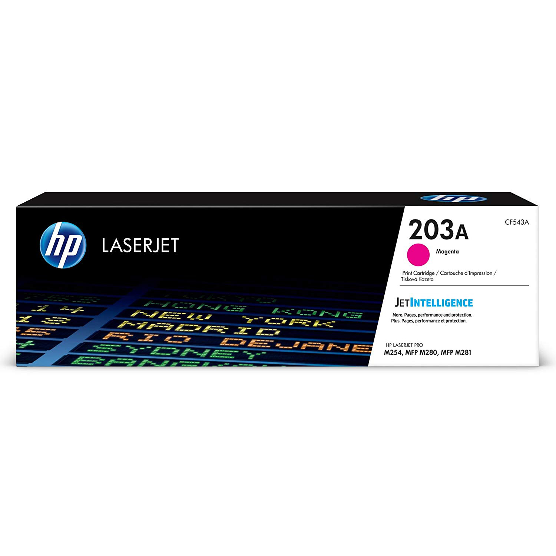 HP 203A (CF543A) Laserjet Toner Cartridge - Magenta