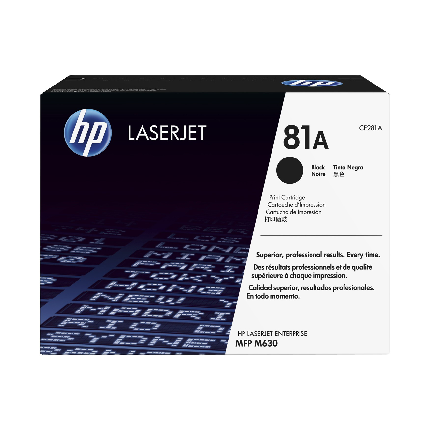 HP 81A (CF281A) Original Toner Cartridge - Black
