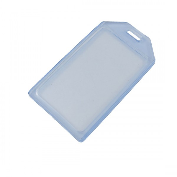 FIS FSNANCH002V ID Badge Vertical Holder - Clear (pkt/50pcs)