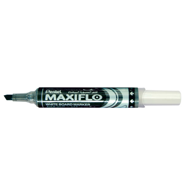 Maxiflo MWL6-8 Chisel White Board Marker - Assorted (pkt/8pcs)