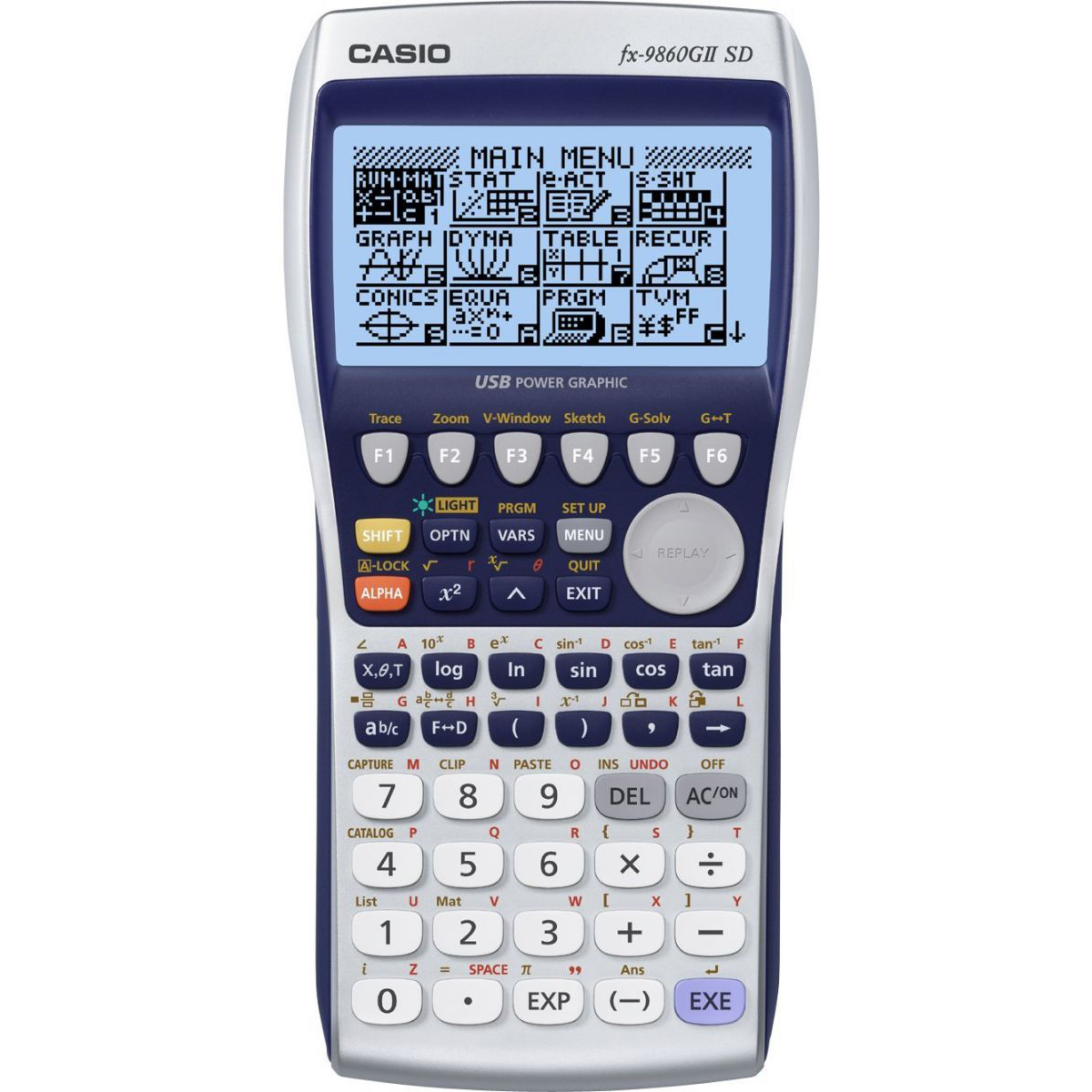 Casio FX9860GII SD Graphic Calculator