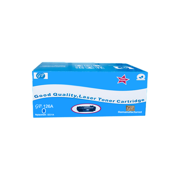 GP Compatible Toner For HP 126A - Cyan