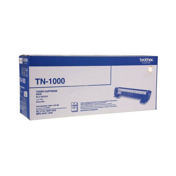 Brother TN-1000 Toner Cartridge - Black