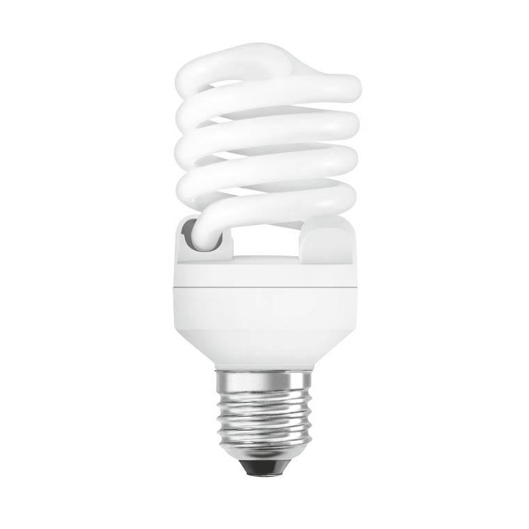 Osram Energy Saver Mini Twist Light Bulb E27 Warm Light Yellow - OESMTWIST (pc)
