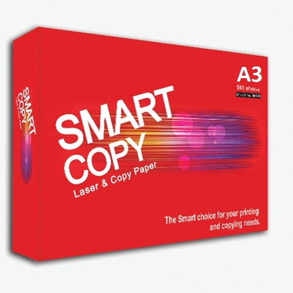 Smart Copy Photocopy Paper 80gsm - A3 (box/5reams)
