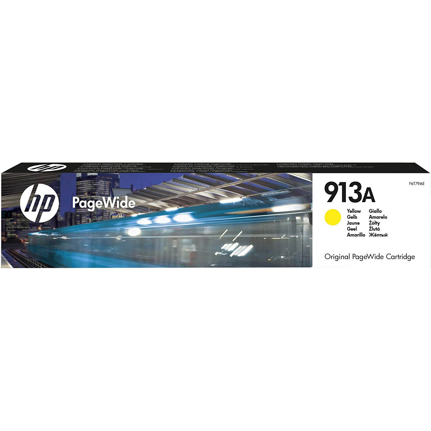 HP 913A (F6T79AE) Toner Cartridges - Yellow