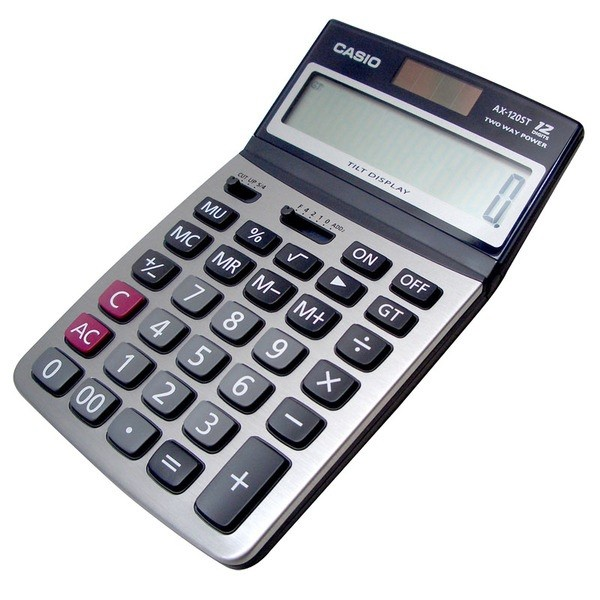 Casio AX-120ST Calculator