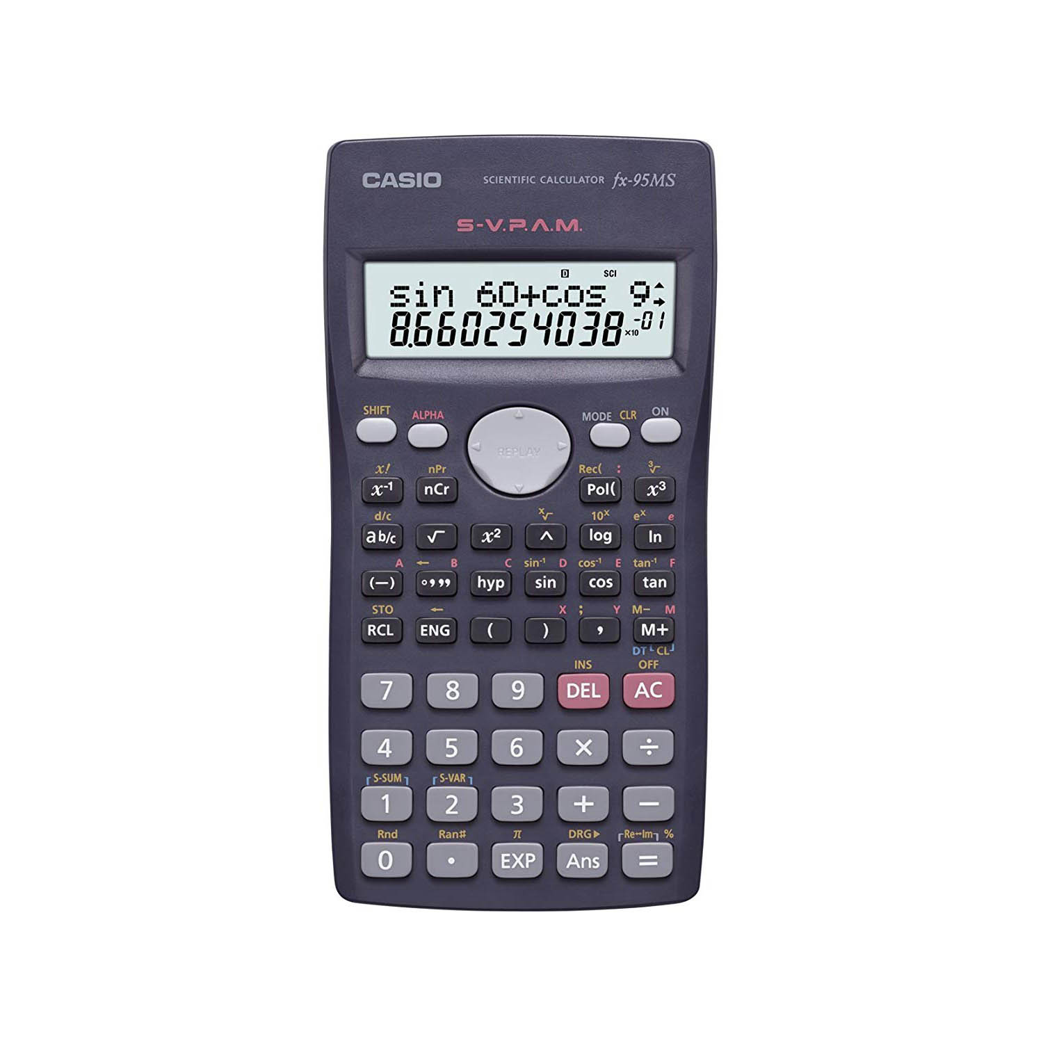 Casio FX-95MS Scientific Calculator with 2-line Natural Textbook Display