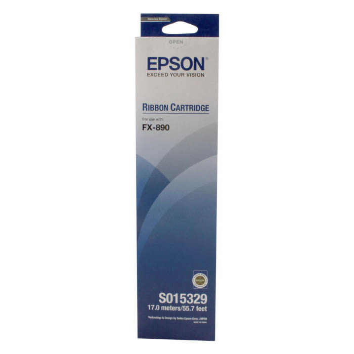 Epson FX-890 Ribbon Cartridge - Black