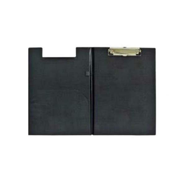FIS FSCB0302DXBK PVC A4 Deluxe Double Clipboard - Black (pc)