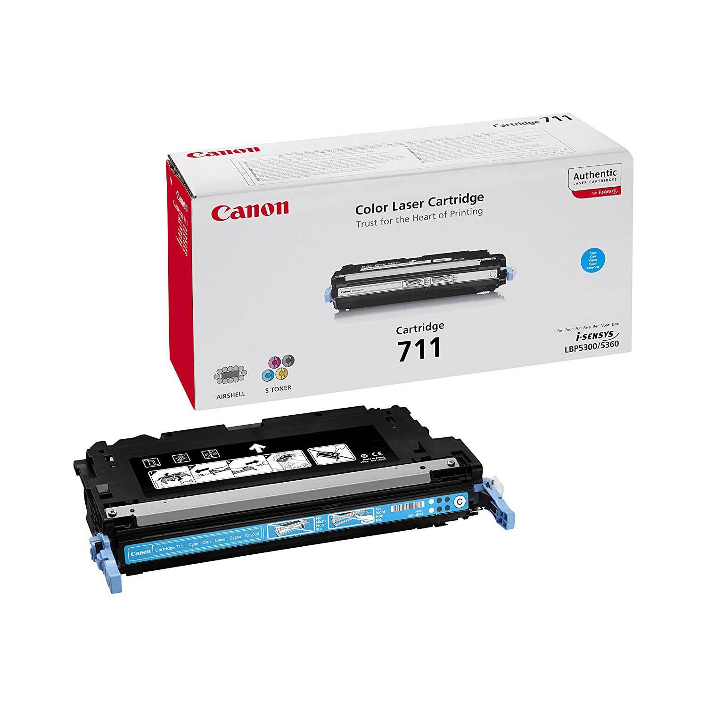 Canon 711C Toner Cartridge - Cyan