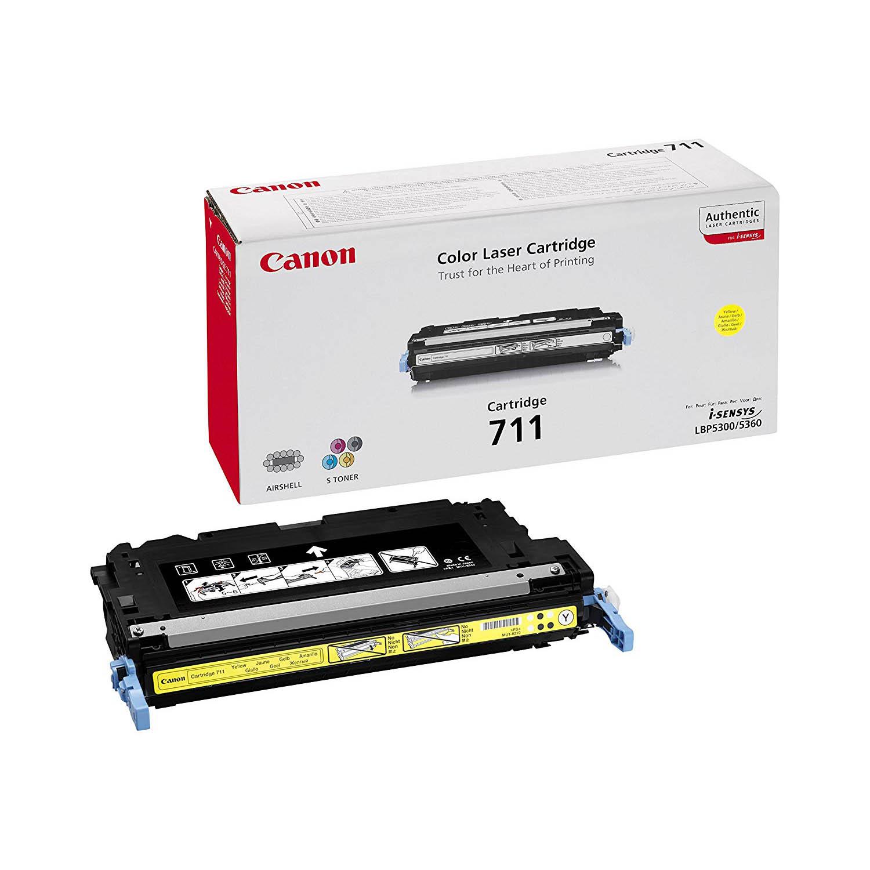 Canon 711Y Toner Cartridge - Yellow