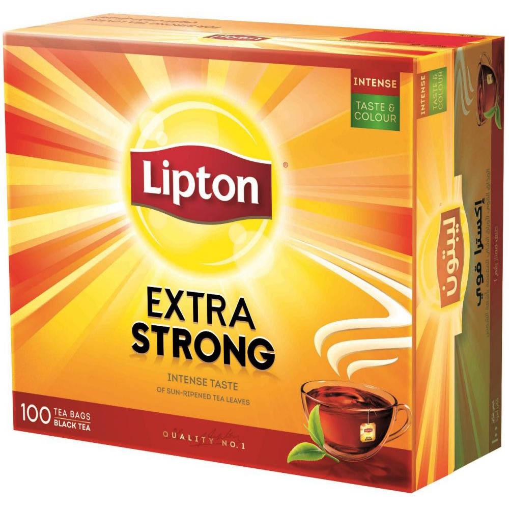 Lipton Yellow Tea Bag - Strong (pkt/100pcs)