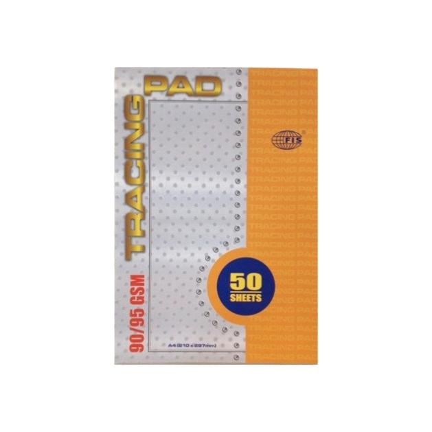 FIS Tracing Pad 90/95gsm 50sheets - A4 (pc)