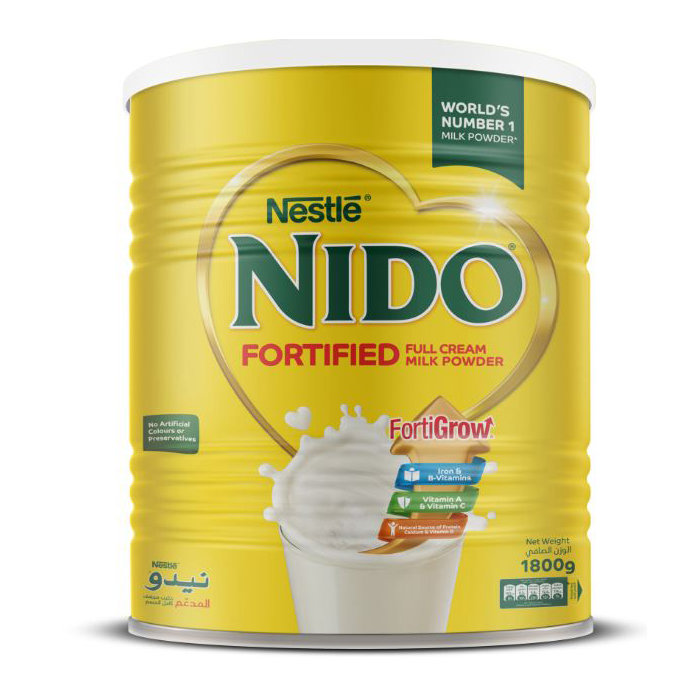 Nido Fortified Milk Powder Can - 1.8kg (pc)