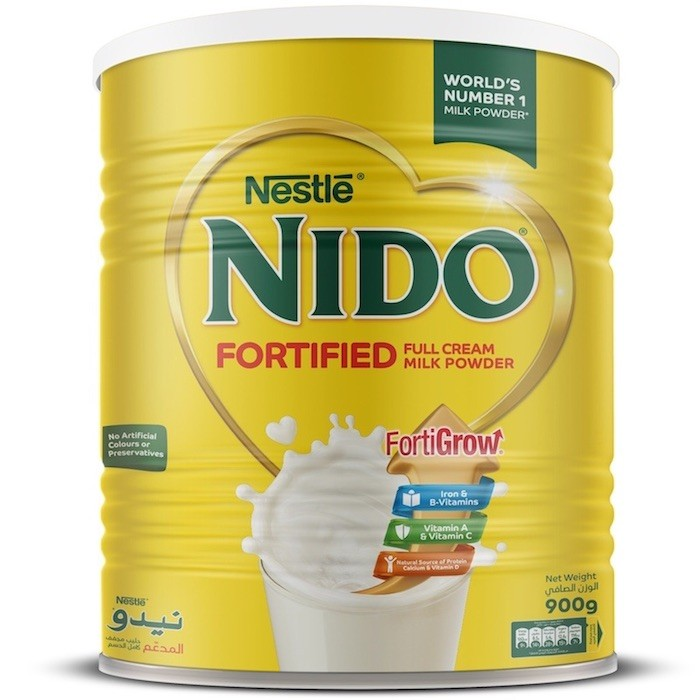 Nido Fortified Milk Powder Can - 900g (pc)