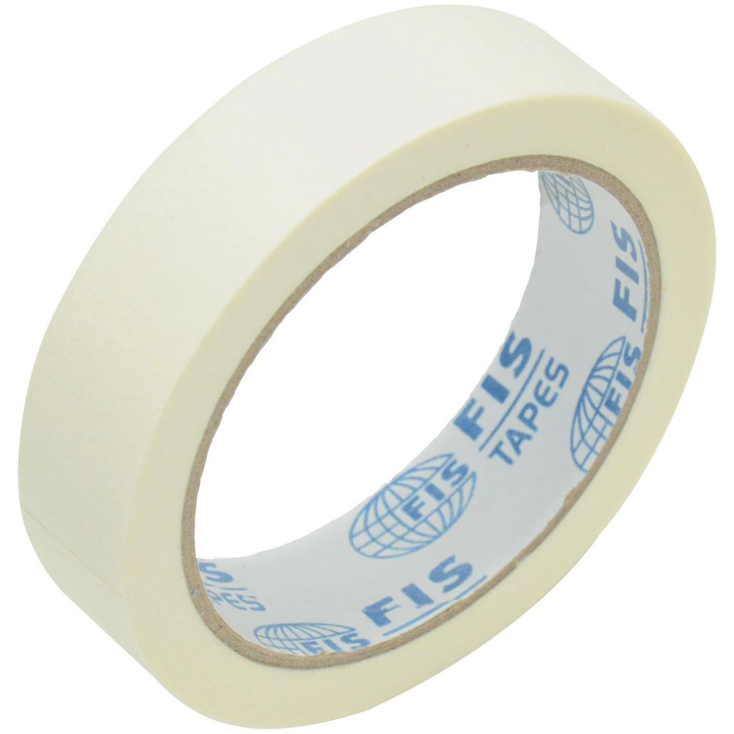 FIS Masking Tape 1in x 25yd - FSTAM1025 (box/72pcs)