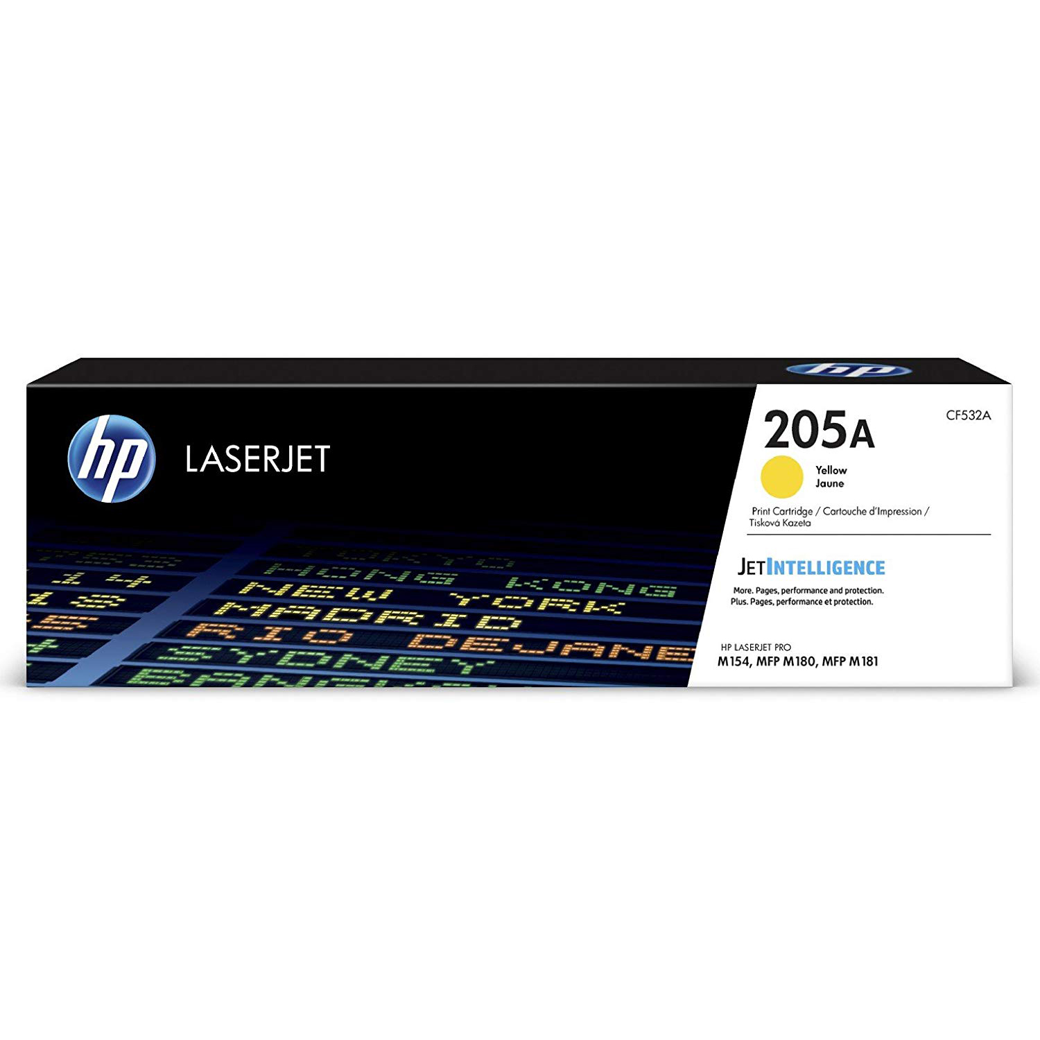 HP 205A (CF532A) Toner Cartridge - Yellow