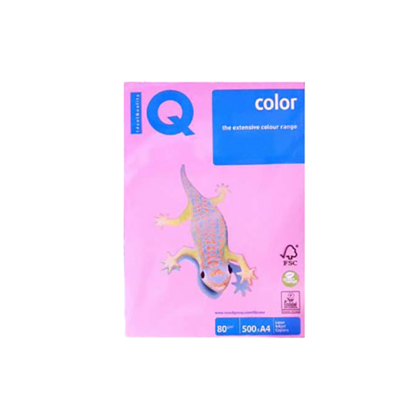 Mondi IQ Colour Paper 80gsm - Pink (rm/500s)