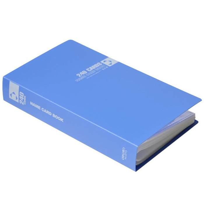 Deli 5773 Business Card Book 240 Pockets - Assorted (pc)