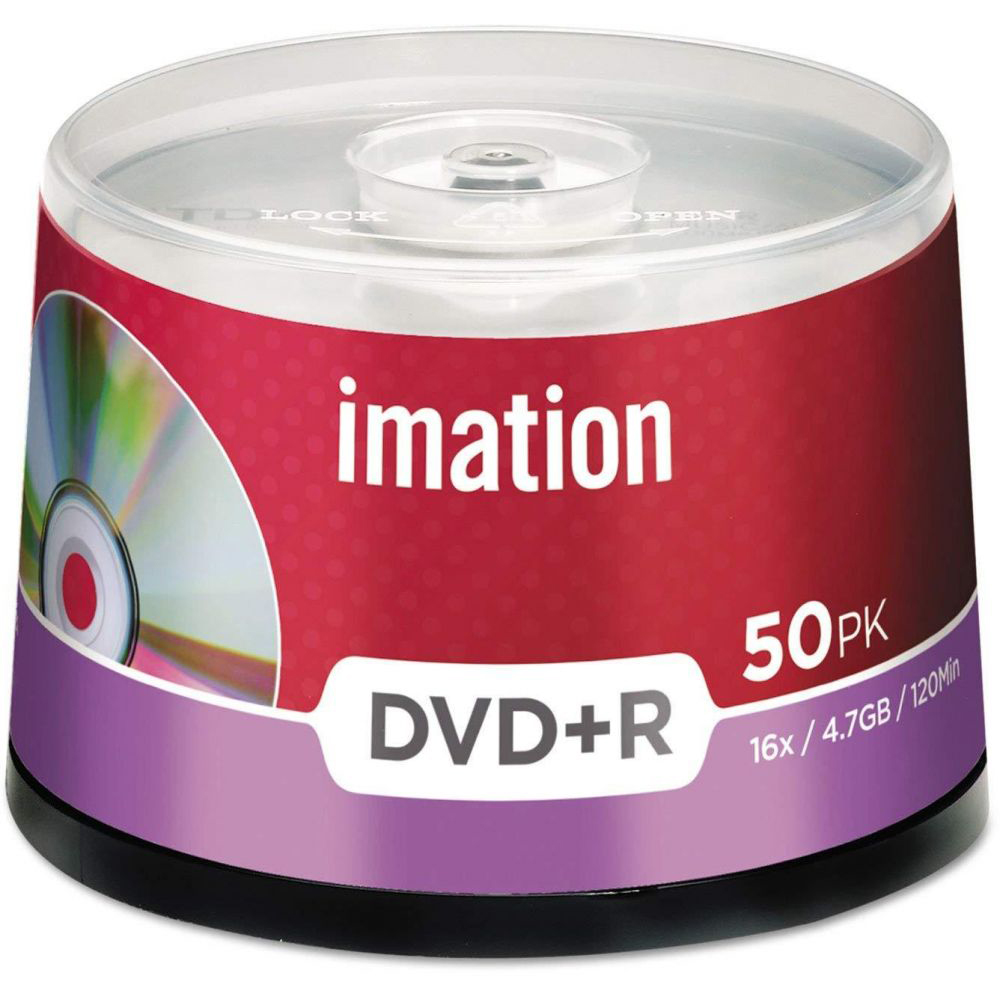 Imation DVD+R 4.7GB 16X (pkt/50pcs)