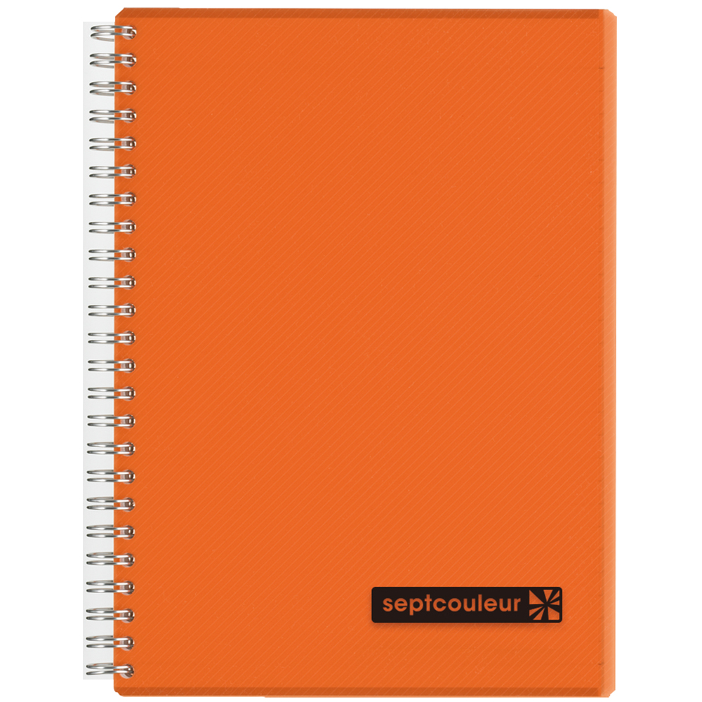 Maruman Sept Couleur Notebook 80-sheets A5 - Orange (Pc)
