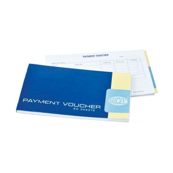 FIS Payment Voucher Book 50 Sheets English 120 x 210 mm - FSCLPVB (pc)