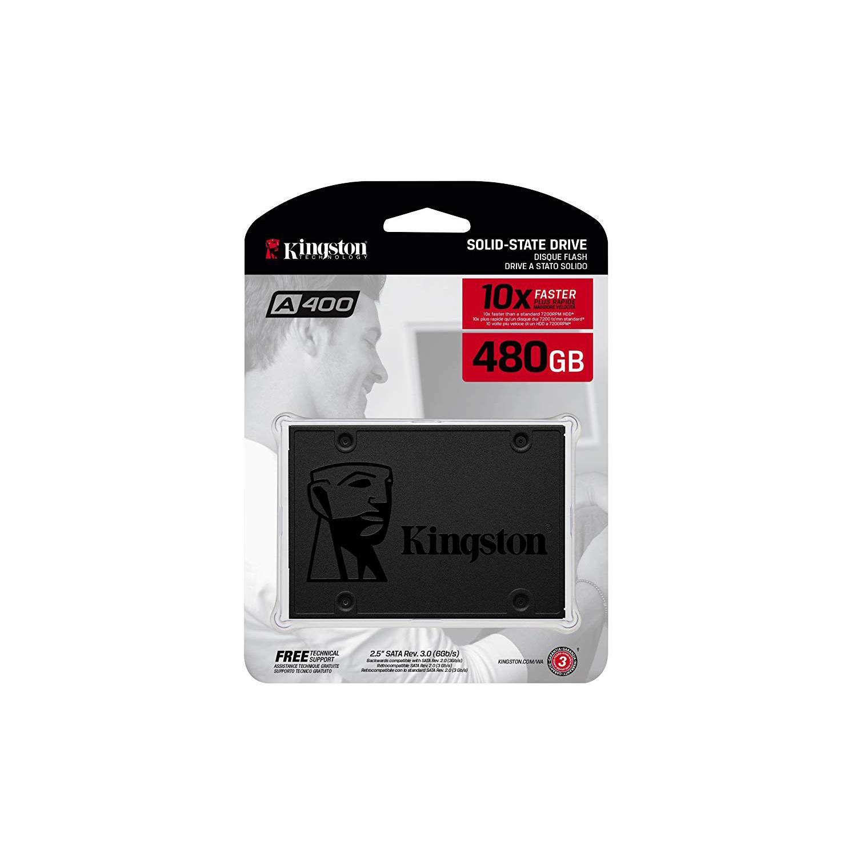 Kingston A400 SSD 480GB SATA 3 2.5in SA400S37/480G (pc)