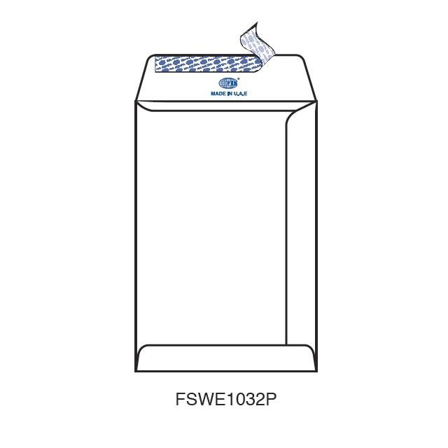 FIS 9 x 6in White Envelopes - FSWE1032P (Pkt/50pc)