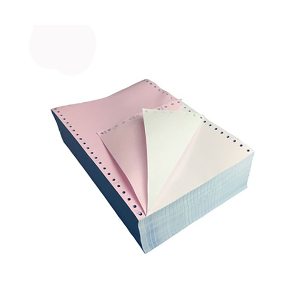 Amest Computer Continuous Form Paper 2-ply A4 9.5 x 11in - White & Pink (box/1000sheets)