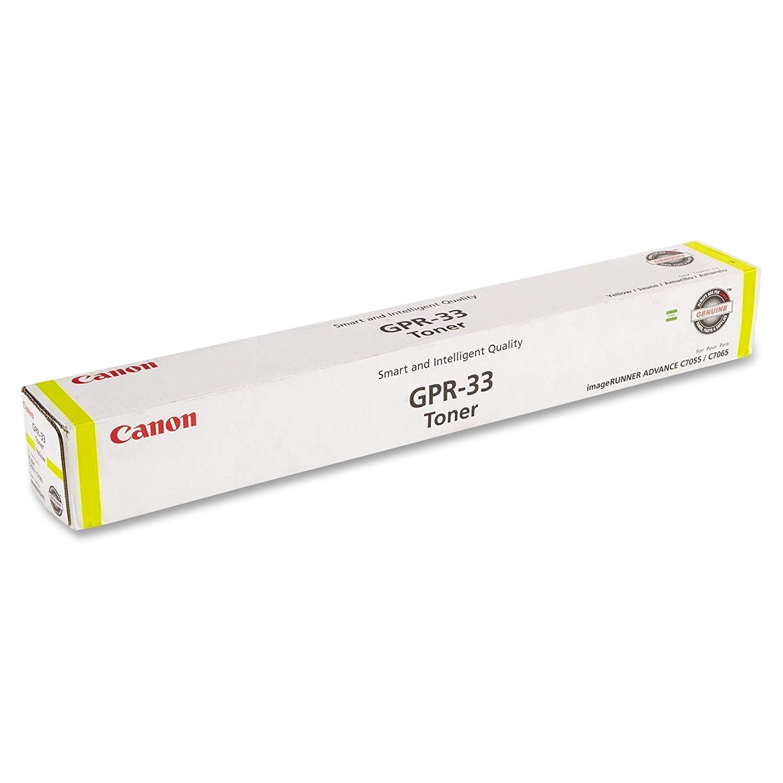 Canon GPR-33 Toner Cartridge - Yellow