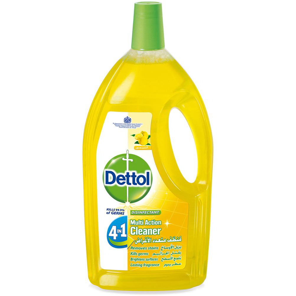 Dettol Multi Action 4-in-1 Cleaner 1.8L - Lemon (pc)
