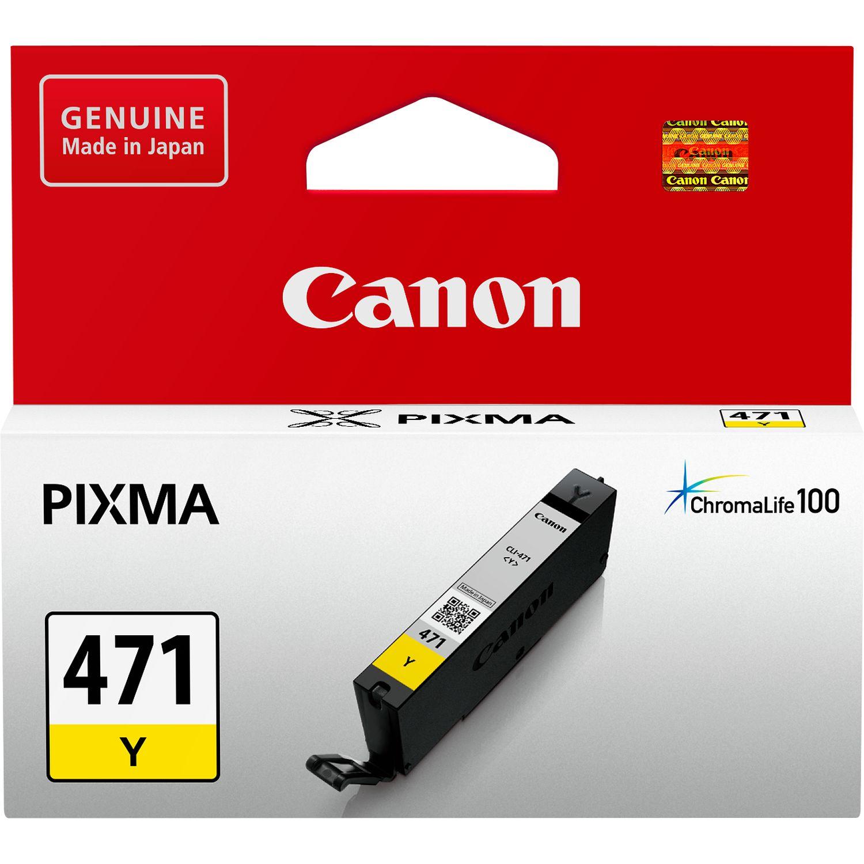 Canon CLI-471Y Ink Cartridge - Yellow