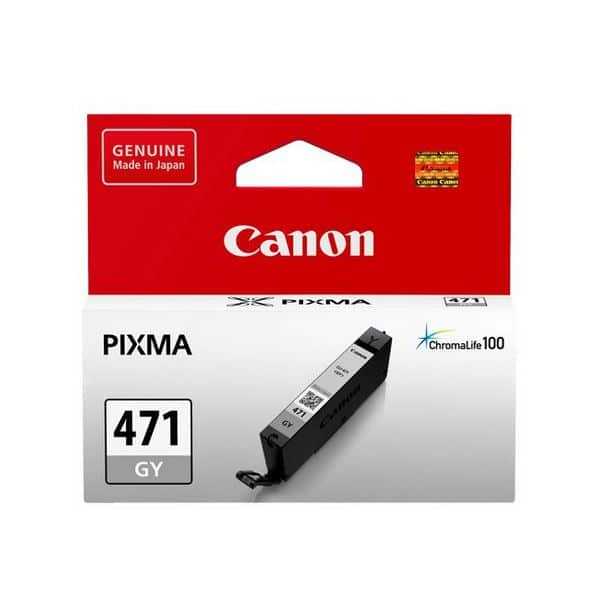 Canon CLI-471GY Ink Cartridge - Grey