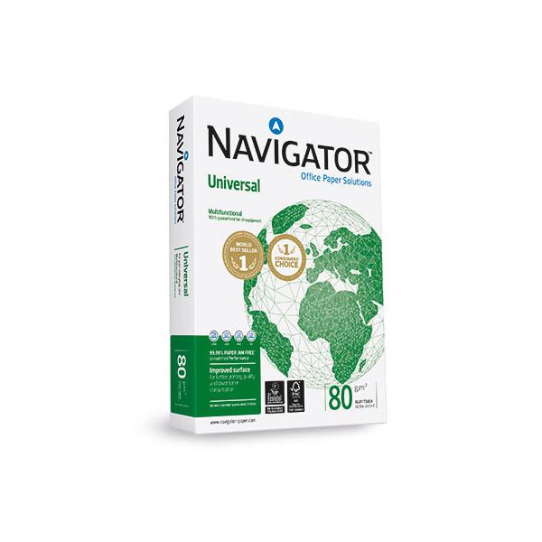 Navigator Universal Copy Paper 80gsm - A4 (box/5rm)