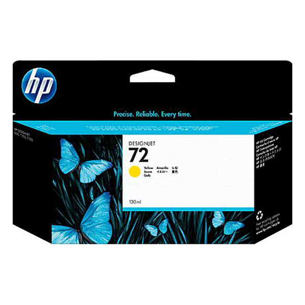 HP 72 (C9373A) 130-ml DesignJet Ink Cartridge - Yellow