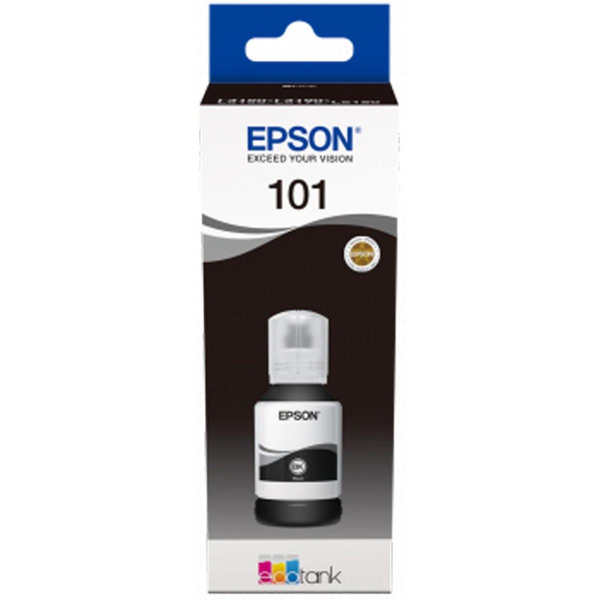 Epson 101 EcoTank Ink Cartridge (C13T03V14A) 127ml - Black