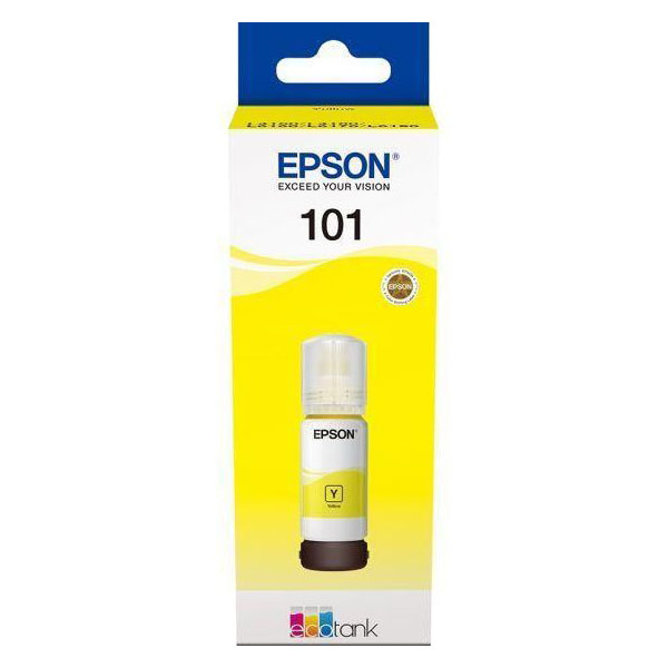 Epson 101 EcoTank Ink Cartridge (C13T03V44A) 70ml - Yellow