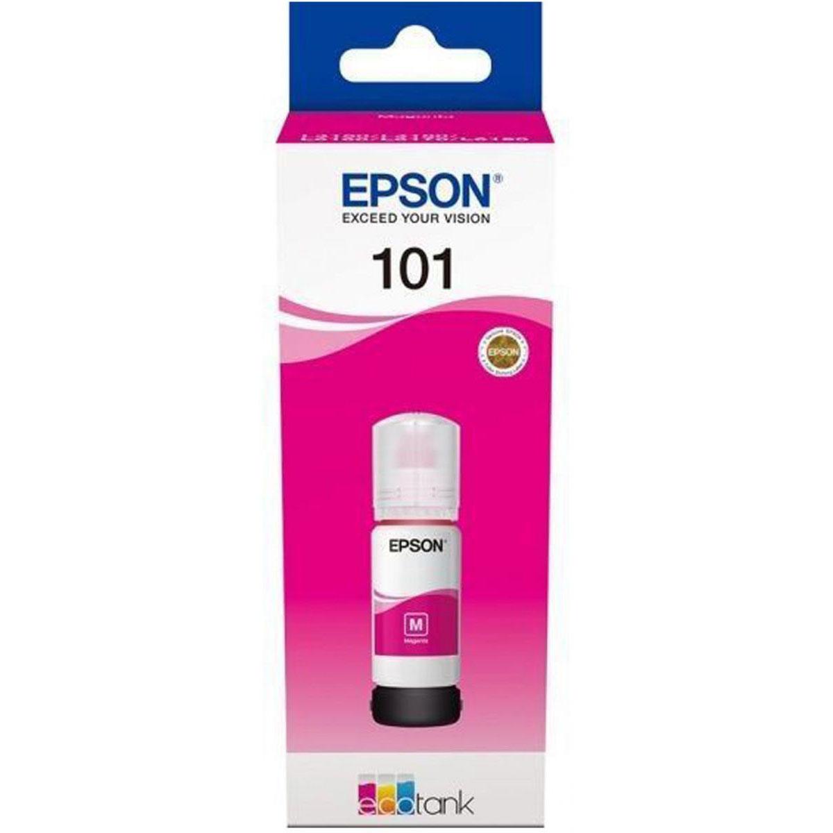 Epson 101 EcoTank Ink Cartridge (C13T03V34A) 70ml - Magenta