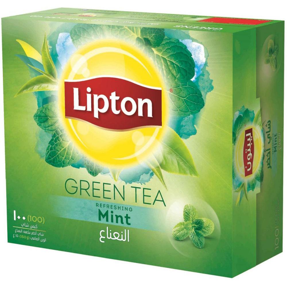 Lipton Green Tea with Mint (pkt/100pcs)