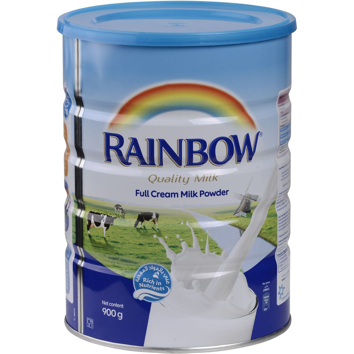 Rainbow Full Cream Milk Powder - 900g (pc)