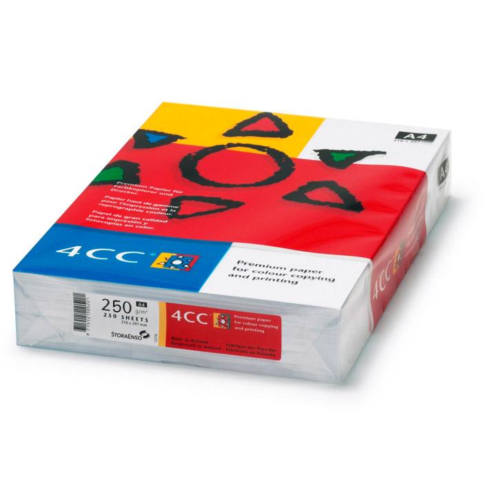 4CC Photocopy Paper 250gsm - A4 (ream/250s)