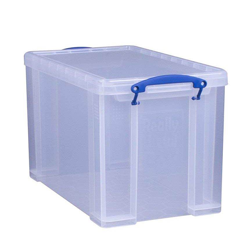 Really Useful Box 24L Plastic Storage Box - Clear (pc)