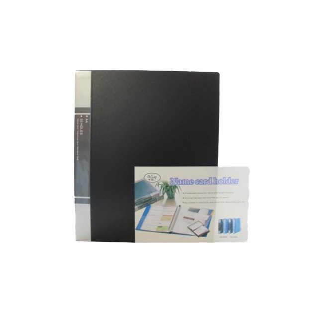 Deluxe Business Card Holder 600-card capacity A4 - Assorted Colors (pc)