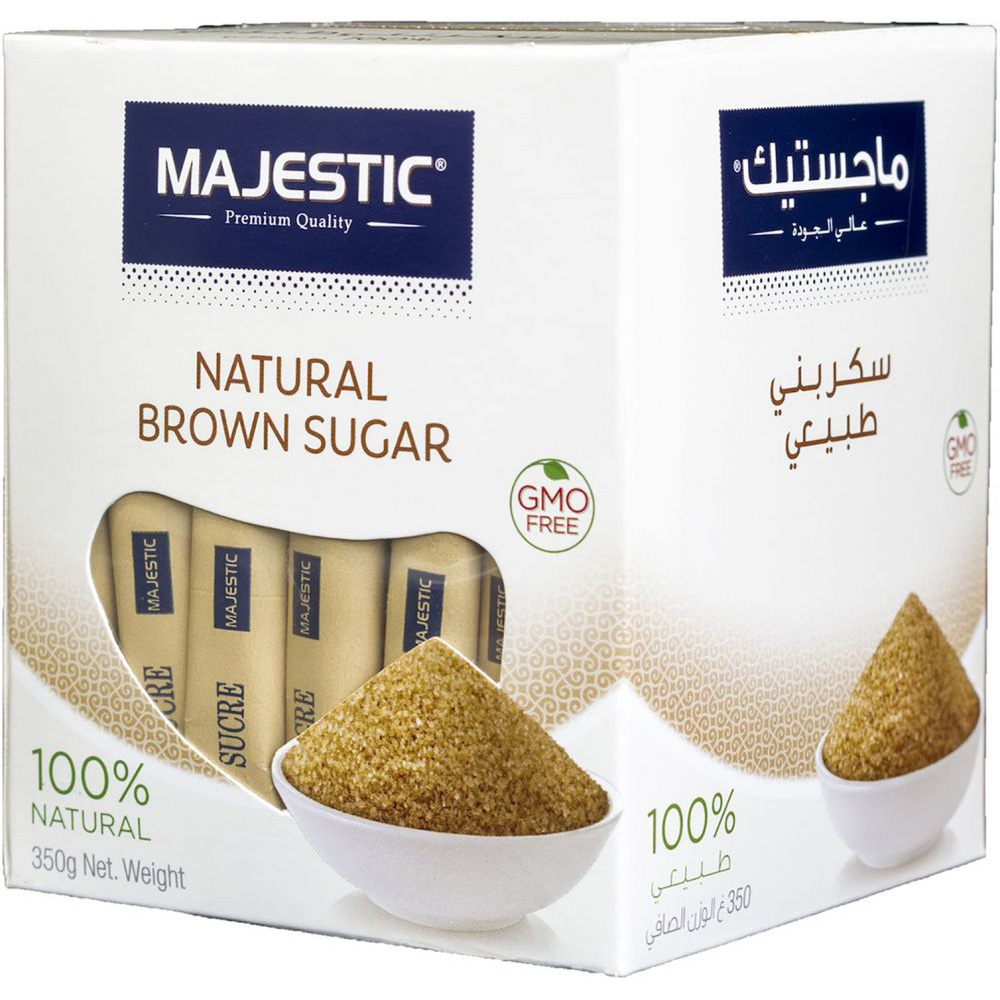 Majestic Brown Sugar Stick - 350g (box/70pcs)