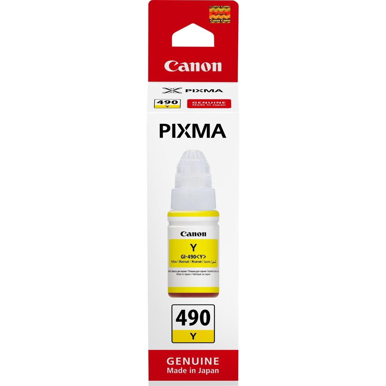 Canon GI-490Y Ink Cartridge - Yellow