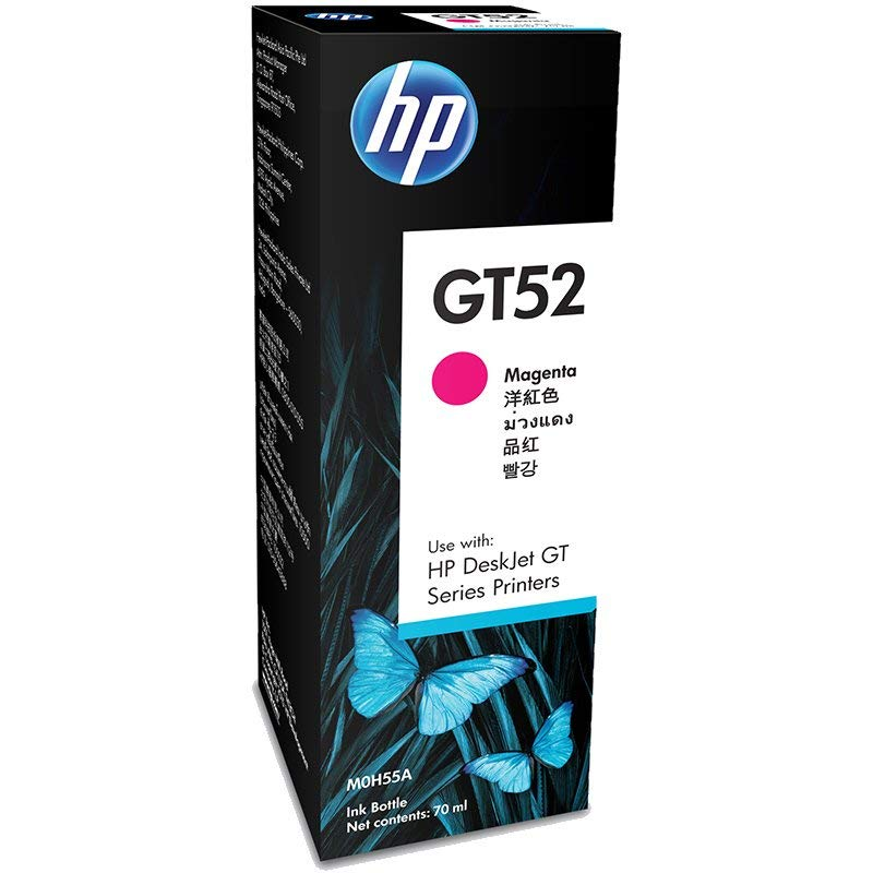 HP GT52 70-ml Ink Bottle Inkjet Refill - Magenta